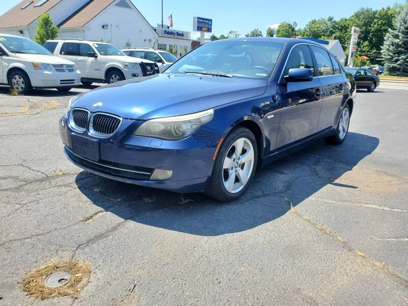 2008 BMW 5 Series for sale at K Tech Auto Sales in Leominster MA