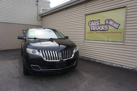 2012 Lincoln MKX for sale at Cars Trucks & More in Howell MI