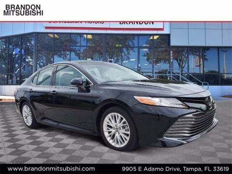 2018 Toyota Camry for sale at Brandon Mitsubishi in Tampa FL