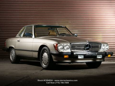 1989 Mercedes-Benz 560-Class for sale at Sierra Classics & Imports in Reno NV