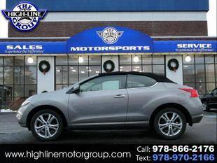 2011 Nissan Murano CrossCabriolet for sale at Highline Group Motorsports in Lowell MA