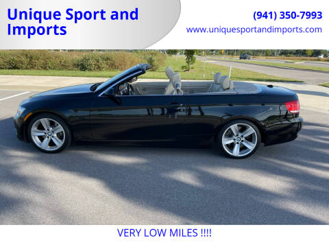 2007 BMW 3 Series for sale at Unique Sport and Imports in Sarasota FL