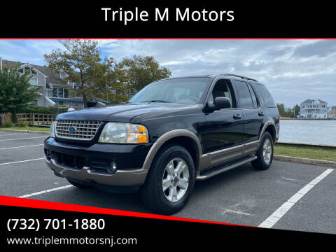 2003 Ford Explorer for sale at Triple M Motors in Point Pleasant NJ