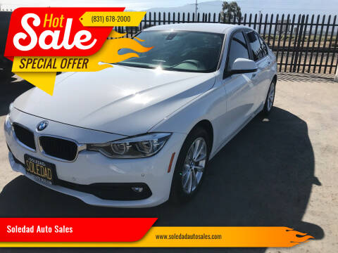 2017 BMW 3 Series for sale at Soledad Auto Sales in Soledad CA