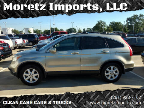 2008 Honda CR-V for sale at Moretz Imports, LLC in Spring TX