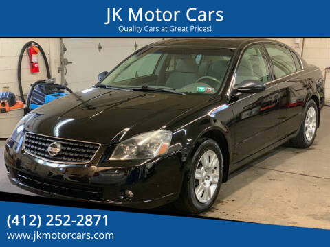 2006 Nissan Altima for sale at JK Motor Cars in Pittsburgh PA
