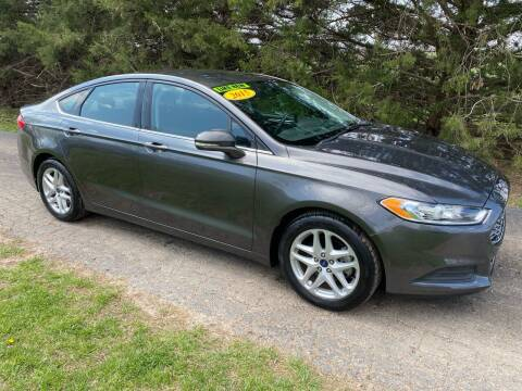2015 Ford Fusion for sale at Kansas Car Finder in Valley Falls KS