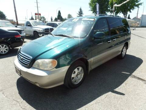 2003 Kia Sedona for sale at Gold Key Motors in Centralia WA