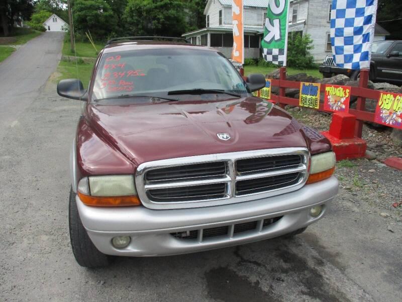2003 Dodge Durango for sale at FERNWOOD AUTO SALES in Nicholson PA