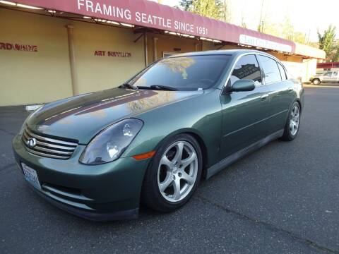 2003 Infiniti G35 for sale at Prudent Autodeals Inc. in Seattle WA
