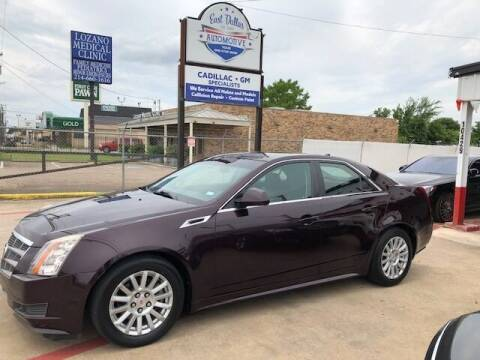 2010 Cadillac CTS for sale at East Dallas Automotive in Dallas TX