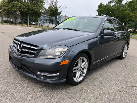 2014 Mercedes-Benz C-Class for sale at Commercial Street Auto Sales in Lynn MA