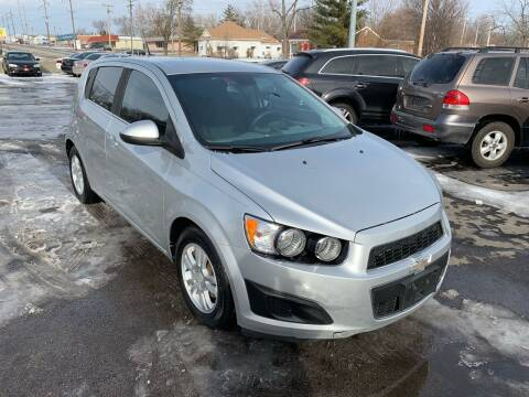 2012 Chevrolet Sonic for sale at Auto Choice in Belton MO