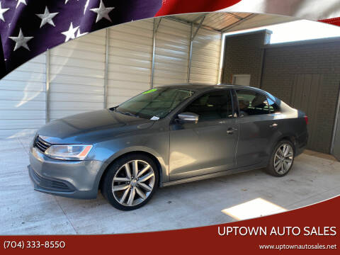 2012 Volkswagen Jetta for sale at Uptown Auto Sales in Charlotte NC