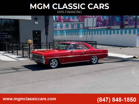 1966 Chevrolet Nova for sale at MGM CLASSIC CARS in Addison, IL