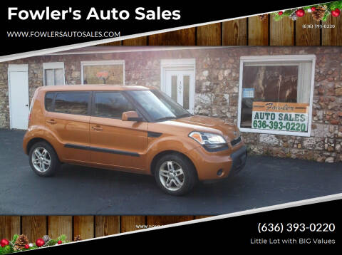 2011 Kia Soul for sale at Fowler's Auto Sales in Pacific MO