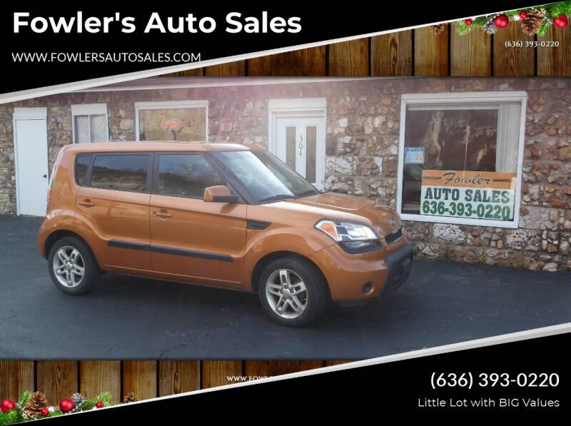 2011 Kia Soul for sale at Fowler's Auto Sales in Pacific MO