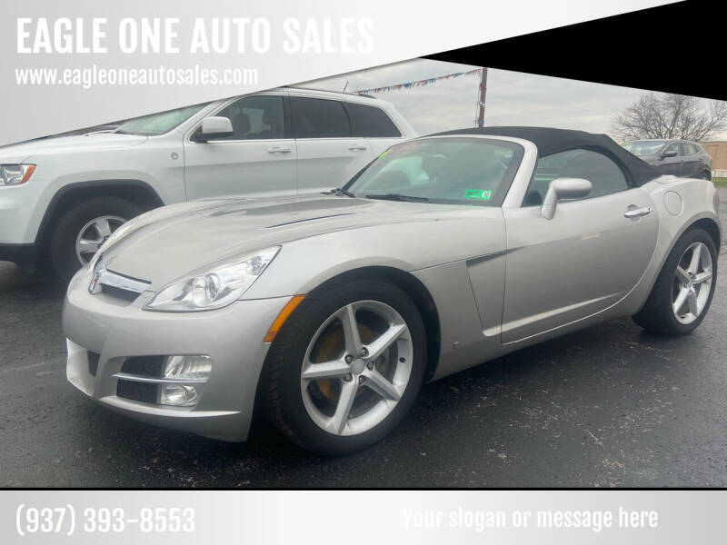 2007 Saturn SKY for sale at EAGLE ONE AUTO SALES in Leesburg OH