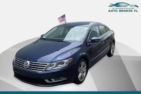 2016 Volkswagen CC for sale at INTERNATIONAL AUTO BROKERS INC in Hollywood FL