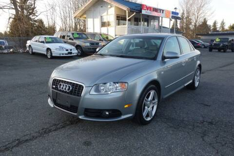 2008 Audi A4 for sale at Leavitt Auto Sales and Used Car City in Everett WA