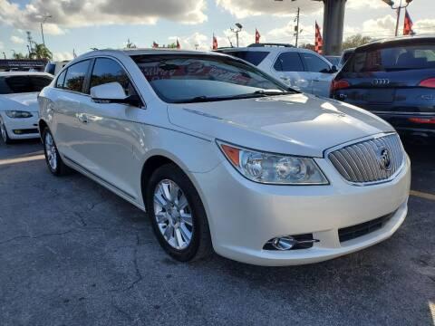 2012 Buick LaCrosse for sale at America Auto Wholesale Inc in Miami FL