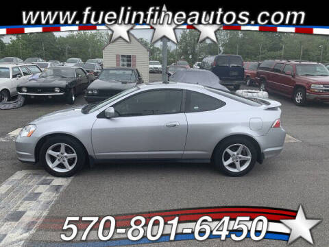 2003 Acura RSX for sale at FUELIN FINE AUTO SALES INC in Saylorsburg PA