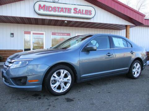 2012 Ford Fusion for sale at Midstate Sales in Foley MN
