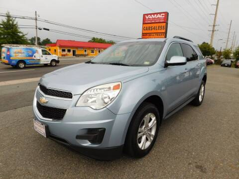 2015 Chevrolet Equinox for sale at Cars 4 Less in Manassas VA