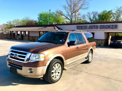 2011 Ford Expedition EL for sale at Texas Auto Broker in Killeen TX