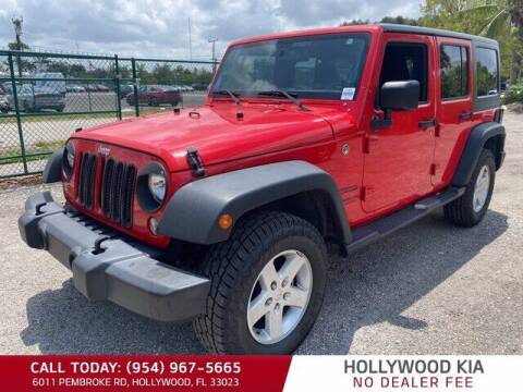 2017 Jeep Wrangler Unlimited for sale at JumboAutoGroup.com in Hollywood FL