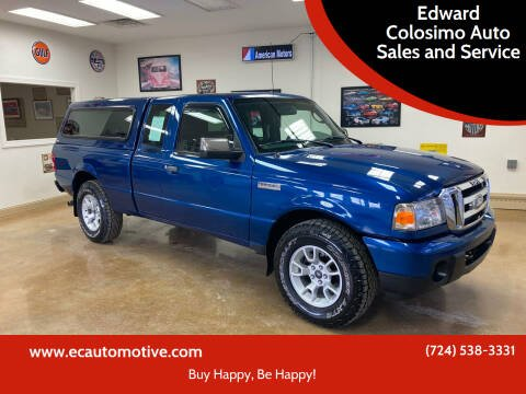 2011 Ford Ranger for sale at Edward Colosimo Auto Sales and Service in Evans City PA
