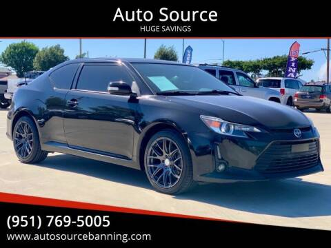 2014 Scion tC for sale at Auto Source in Banning CA