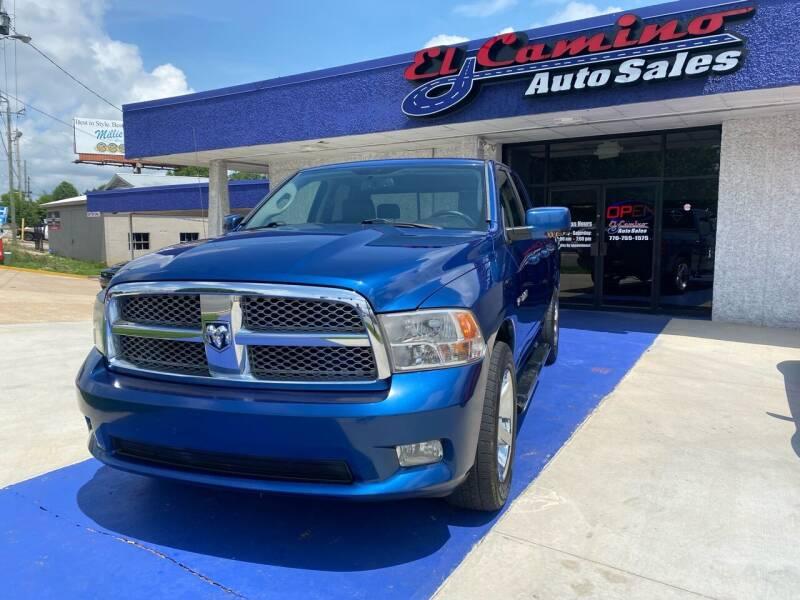 2009 Dodge Ram Pickup 1500 for sale at El Camino Auto Sales Gainesville in Gainesville GA