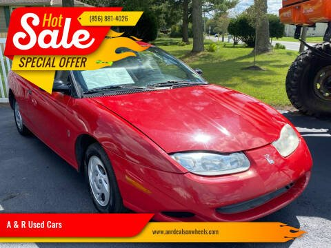 2001 Saturn S-Series for sale at A & R Used Cars in Clayton NJ