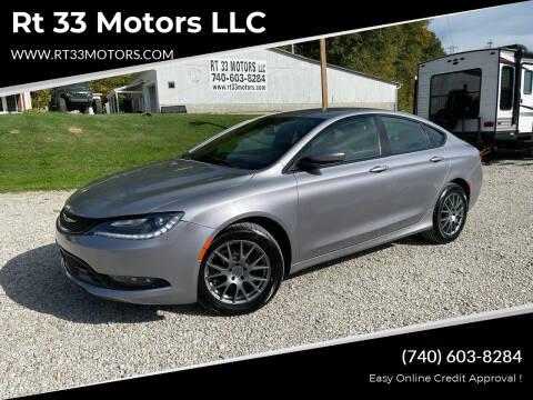2015 Chrysler 200 for sale at Rt 33 Motors LLC in Rockbridge OH