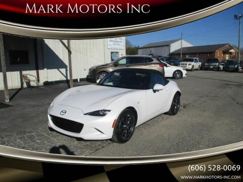 2016 Mazda MX-5 Miata for sale at Mark Motors Inc in Gray KY