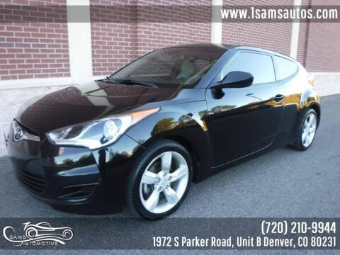 2014 Hyundai Veloster for sale at SAM'S AUTOMOTIVE in Denver CO