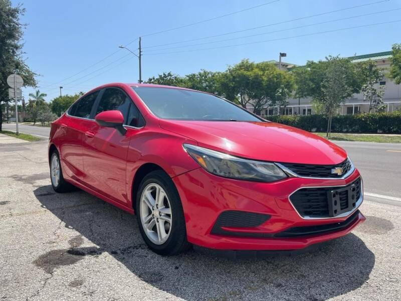2016 Chevrolet Cruze for sale at Hard Rock Motors in Hollywood FL