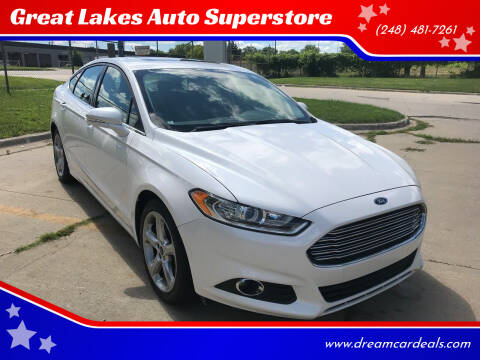 2015 Ford Fusion for sale at Great Lakes Auto Superstore in Pontiac MI