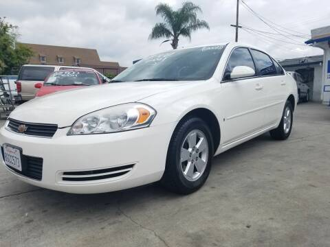 2007 Chevrolet Impala for sale at Olympic Motors in Los Angeles CA