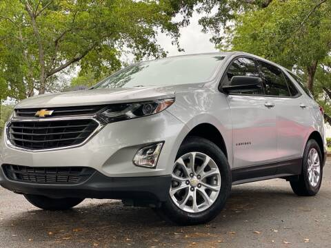 2018 Chevrolet Equinox for sale at HIGH PERFORMANCE MOTORS in Hollywood FL