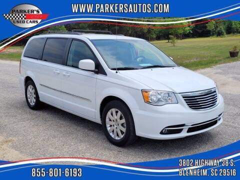 2016 Chrysler Town and Country for sale at Parker's Used Cars in Blenheim SC