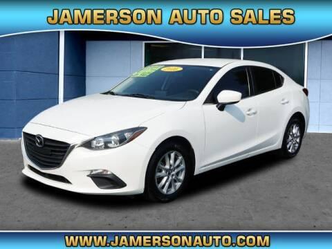 2016 Mazda MAZDA3 for sale at Jamerson Auto Sales in Anderson IN