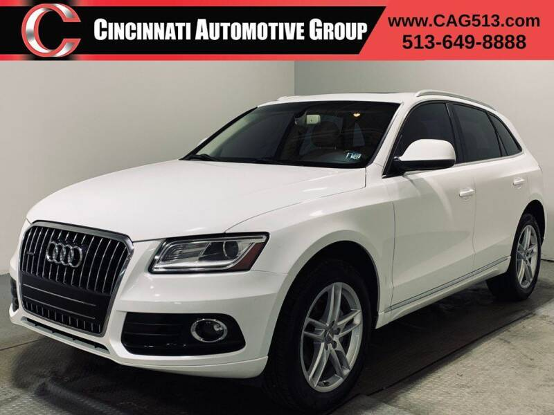2013 Audi Q5 for sale at Cincinnati Automotive Group in Lebanon OH