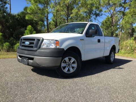 2008 Ford F-150 for sale at VICTORY LANE AUTO SALES in Port Richey FL