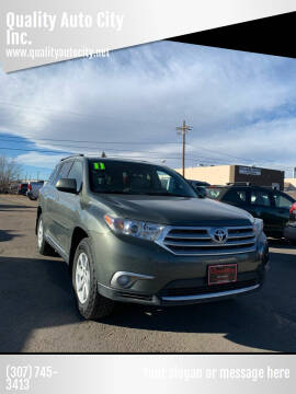 2011 Toyota Highlander for sale at Quality Auto City Inc. in Laramie WY