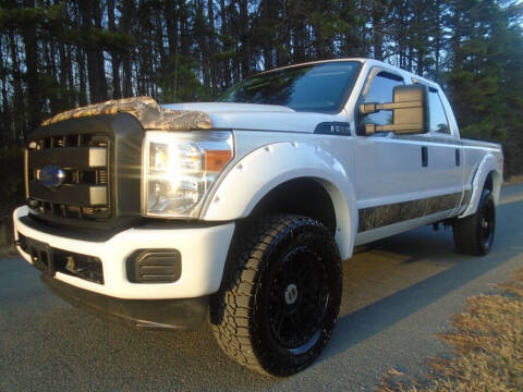 2013 Ford F-250 Super Duty for sale at City Imports Inc in Matthews NC