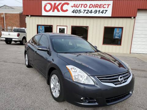2011 Nissan Altima for sale at OKC Auto Direct in Oklahoma City OK