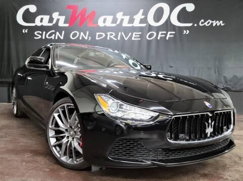 2016 Maserati Ghibli for sale at CarMart OC in Costa Mesa, Orange County CA