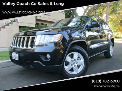 2011 Jeep Grand Cherokee for sale at Valley Coach Co Sales & Lsng in Van Nuys CA